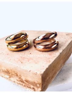 Γυναικείο διπλό δαχτυλίδι...